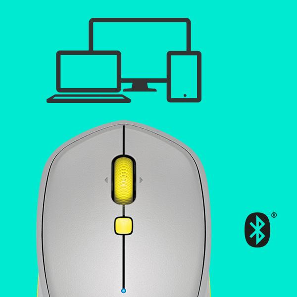 Logitech Mouse M535 Bluetooth Grey