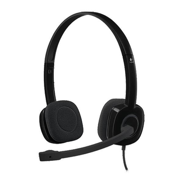 Logitech Stereo Headset H151 - Single Jack