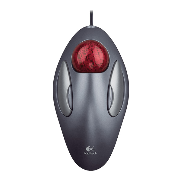 Logitech Trackman Marble USB Mouse
