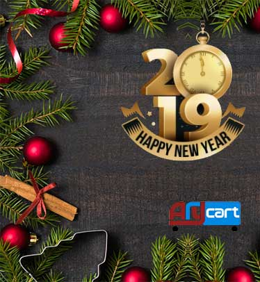 AryCart - Wishes you a Happy New Year 2019