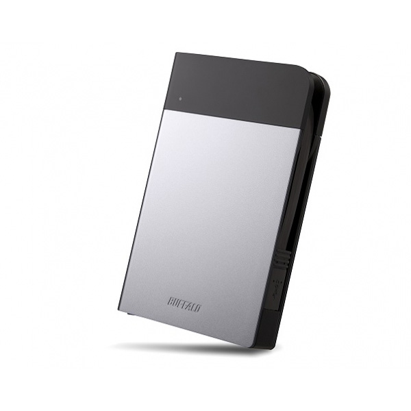 Buffalo MiniStation Extreme 1 TB External HDD / USB 3.0 / 2.5 inch - Silver