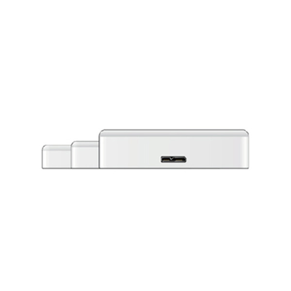 Buffalo MiniStation 1 TB External HDD / USB 3.0 / 2.5 inch - White