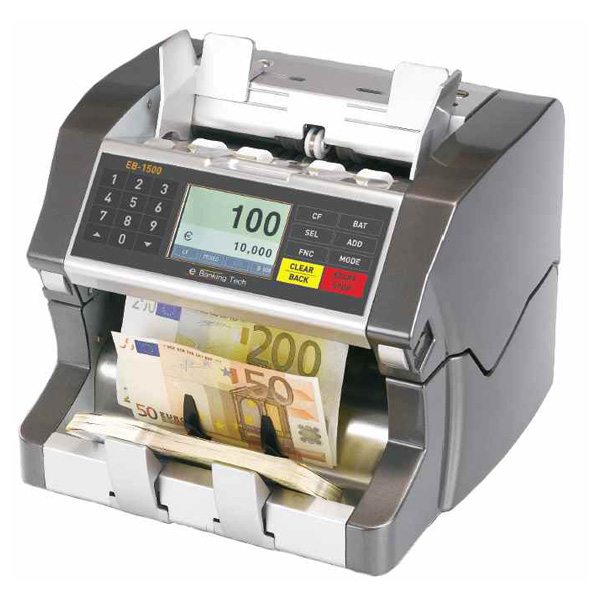 EB-1500 Single Pocket mutlicurrency counter
