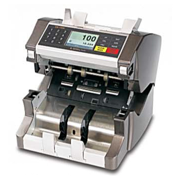 EB-1500 Single Pocket  mutlicurrency counter - Specifications