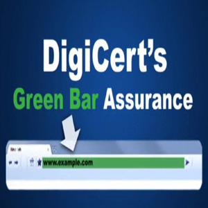 Digicert Extended Validation SSL Plus - Improve Conversion Rates and Customer Confidence with Green Bar Assurance