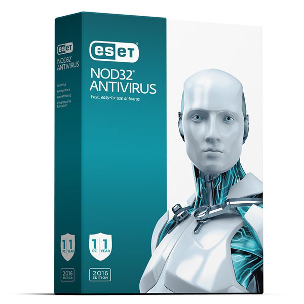 ESET NOD32 Antivirus 1 License 1 Year