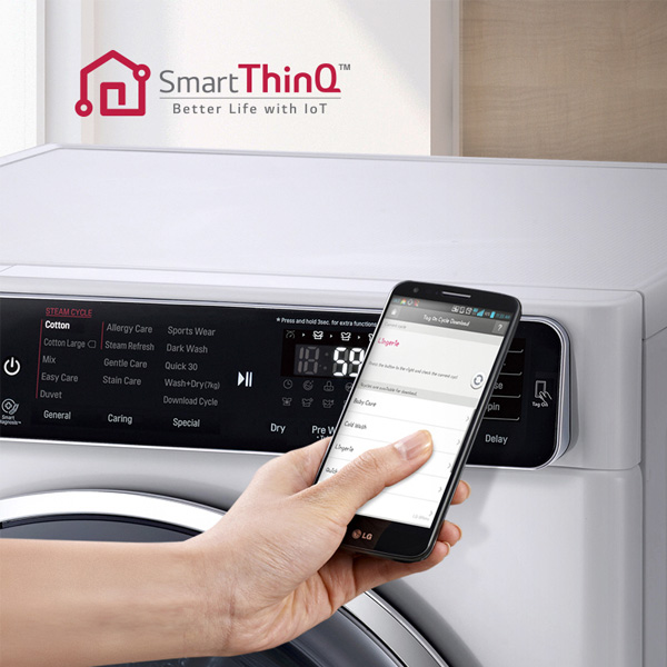 LG 10KG Unique Touch Panel and Stylish Chrome Door Washing Machine