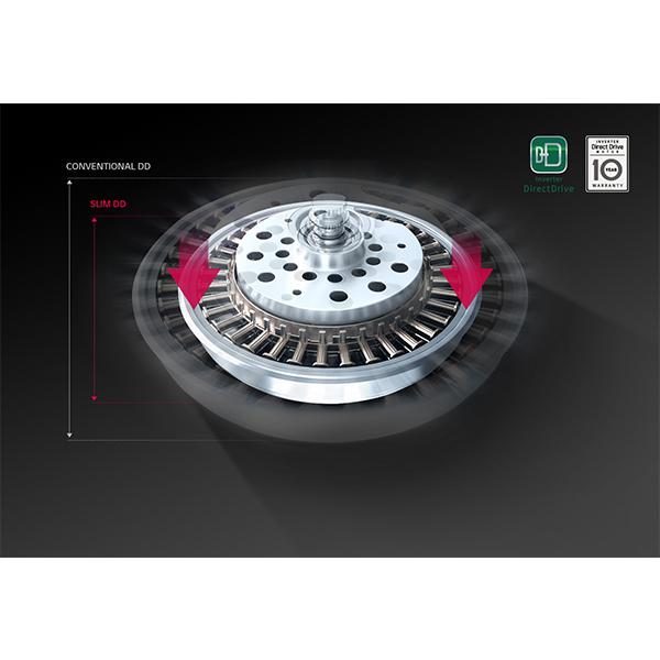 LG 21 KG Twin Wash Shiny Steel Washer