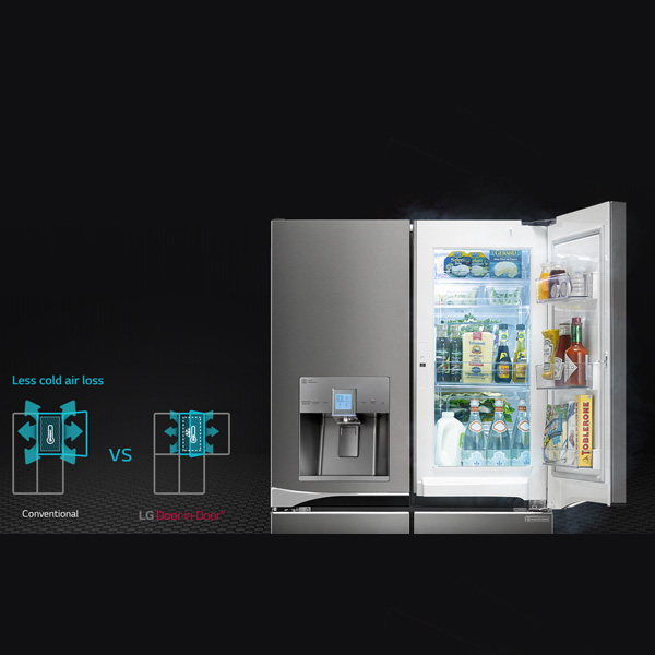 LG  4 - Door French Door Refrigerator With Door-In-Door
