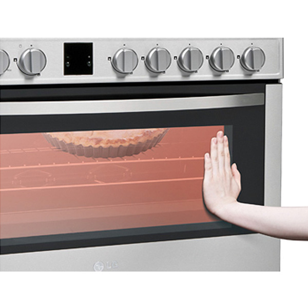 Lg 90cm Cooker With Dual Heating