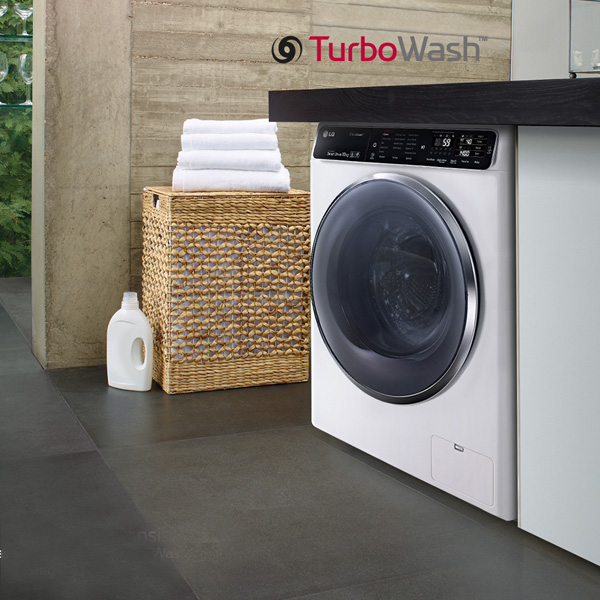 LG Front Load Washer with TurboWash