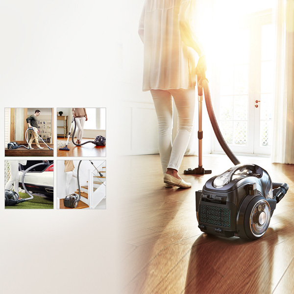 LG Kompressor and Robosense technology Cordless Vacuum Cleaner