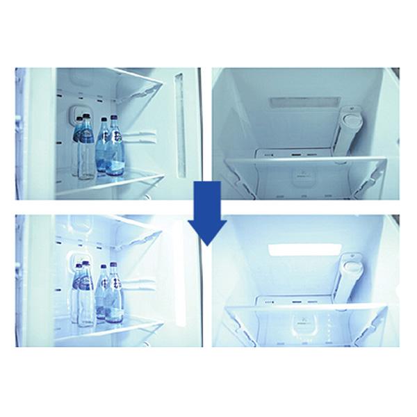 LG Wide Top Freezer Refrigerator and Smart Invertor Compressor