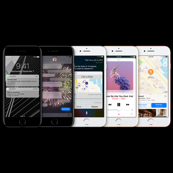 Apple iPhone 7 Plus - iOS 10 Software
