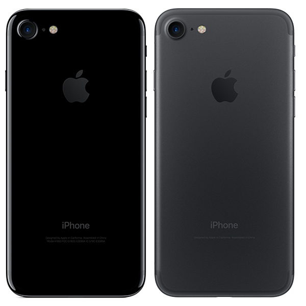 Apple iPhone 7 - New Black and Jet black finishes