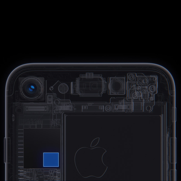 Apple iPhone 7 - More brains behind the camera. Smarter ISP