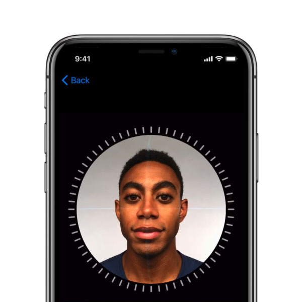 Apple iPhone X - Facial Mapping