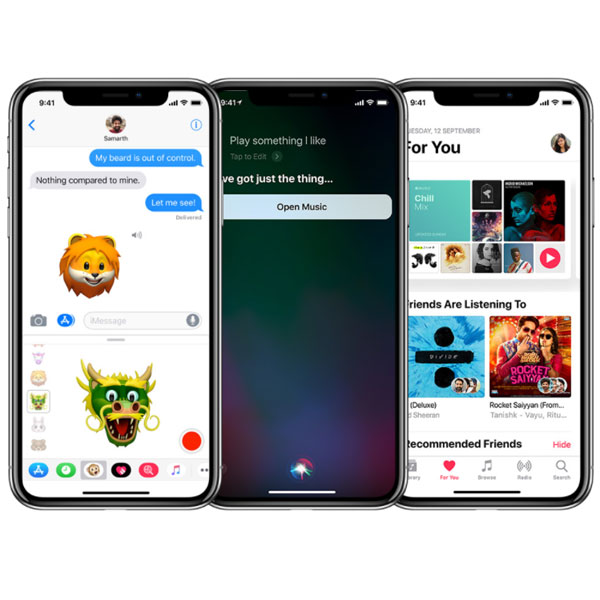 Apple iPhone X - New with iOS 11