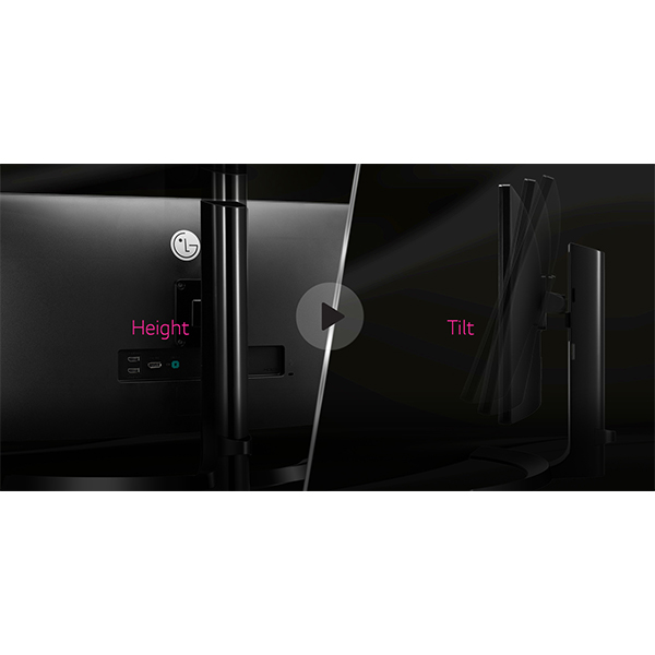 LG 21 Curved IPS UltraWide Monitor Black - 29UC88-B