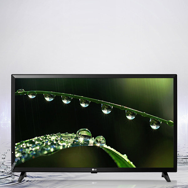LG 32-inch TV HD LED,Virtual Sound, USB Connectivity, Built in Games - 32LJ510U.AMA