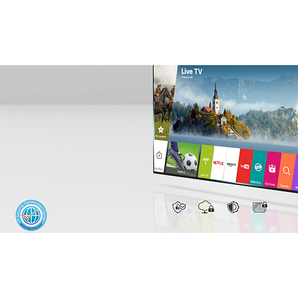 LG 49 ULTRA HD 4K SMART TV - 49UJ630V.AMA