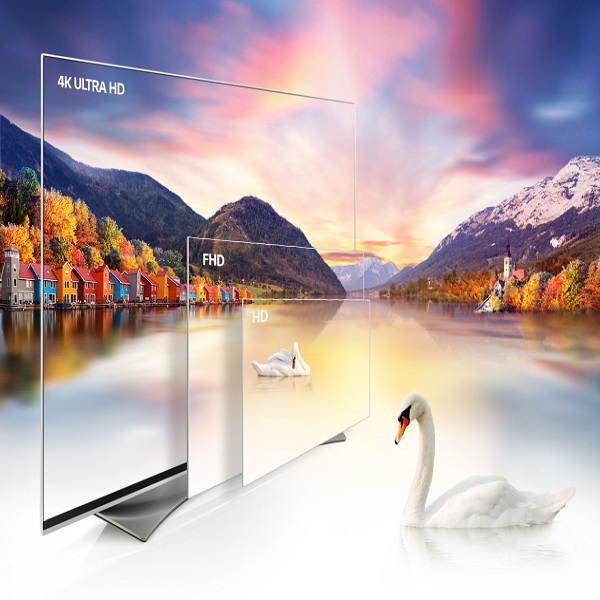 LG 55-inch Smart UHD TV With 4K Resolution - 55UF770T.AMA