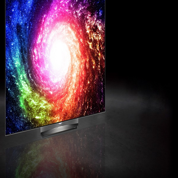 LG 55-inch 4K 3D Smart OLED TV with Sound bar st. - OLED55E6V.AMA