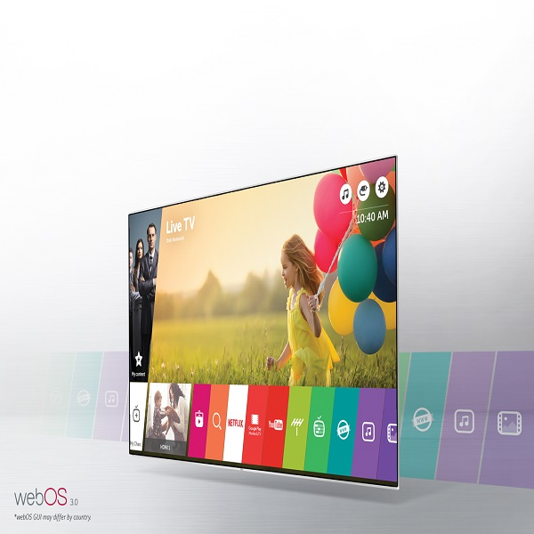 LG 55-inch Super UHD TV with webOS - 55UH850V.AMA