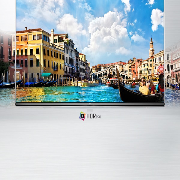 LG 55-inch SMART UHD TV with webOS - 55UH651V.AMA