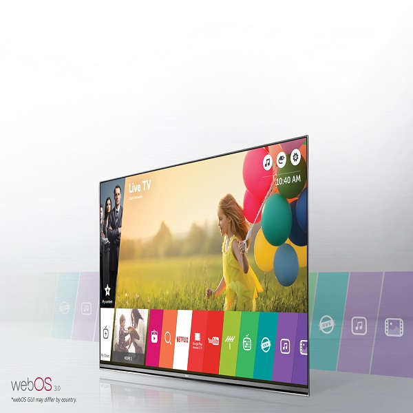 LG 65-inch Smart UHD TV with webOS - 65UH651V.AMA