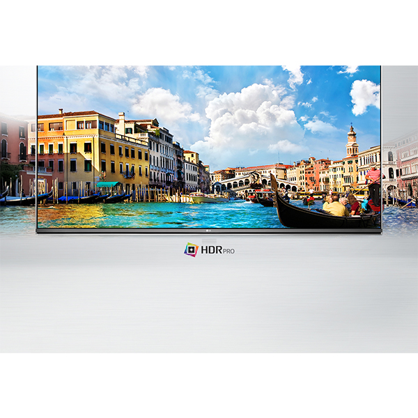LG Ultra Slim 55 UHD TV - 55UH651V.AMAE