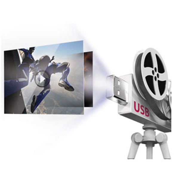 LG LHD657 USB Movie Playback