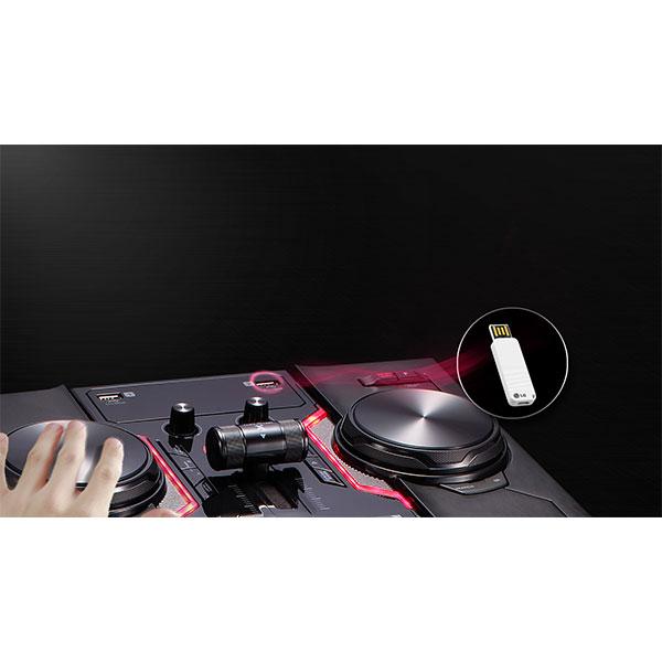 LG OM7560 DJ Function DJ Sharing