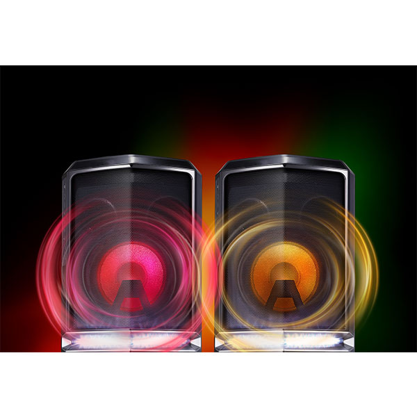 LG FH6 Sound Powerful Output and Bass