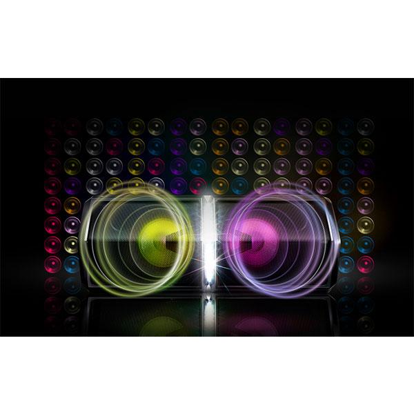 LG FH6 Speaker Lighting