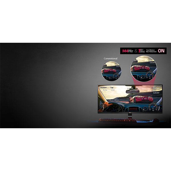 LG 34UC79G 144Hz & 1ms Motion Blur Reduction