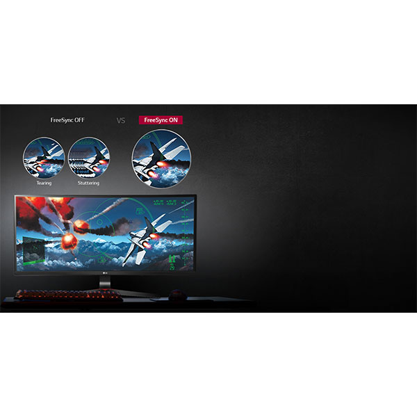 LG 34UC79G AMD FreeSync™ Technology