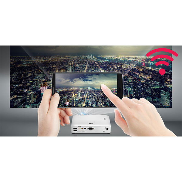 LG PH550G Go wireless. Phone to Projector