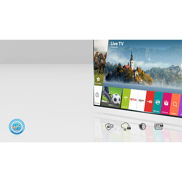 LG 43UJ634V LG webOS 3.5,security you can trust