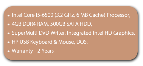 HP ProDesk 400 G3 MT Desktop Configuration