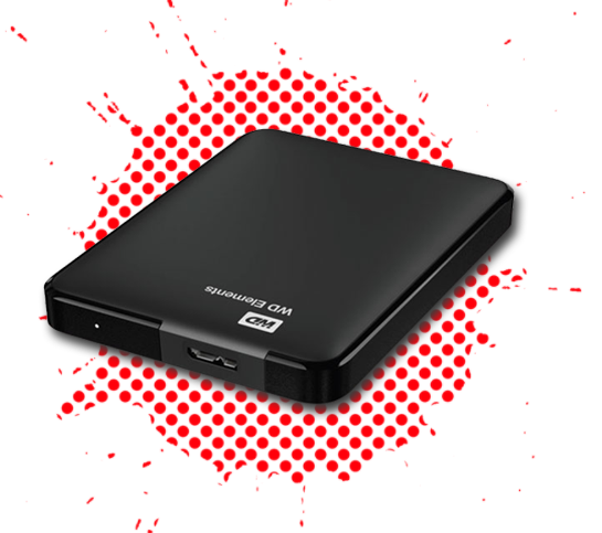 Western Digital WD elements portable 1TB and 2TB 2.5 inch external USB Harddisk HDD in Kuwait from AryCart.com