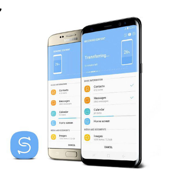 SAMSUNG-G950-Smart Switch Change your phone, easily keep your memories