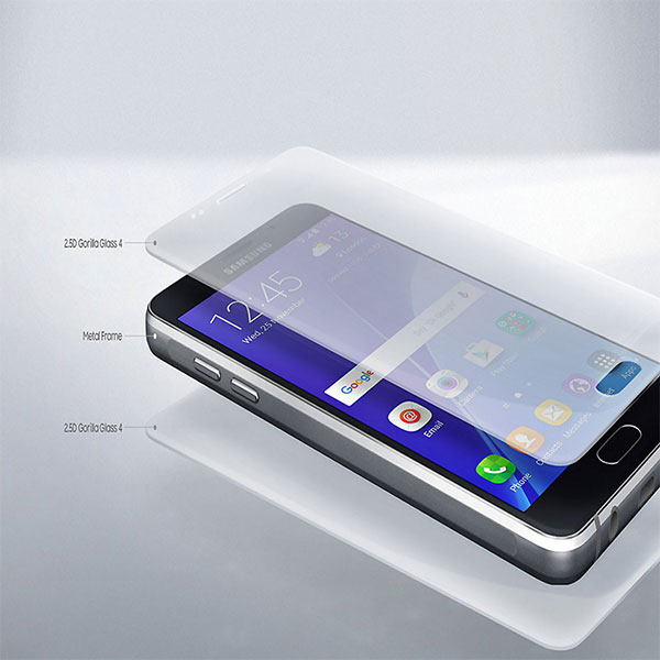 SAMSUNG-A710-Exquisite-Metal-Glass-Combination