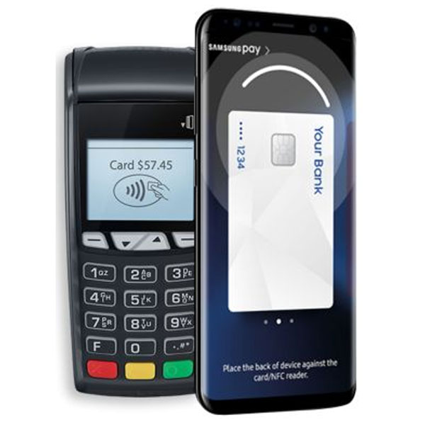 SAMSUNG G955 Samsung PaySimple, Secure,Works anywhere