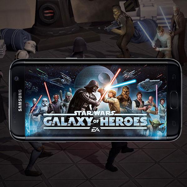 SAMSUNG G935 Gaming